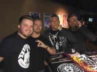 Kyle West / Tyler Bate / Pete Dunne / Trent Seven